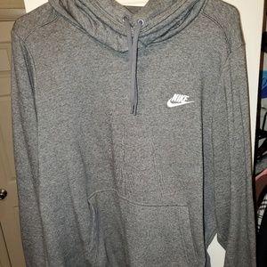 Dark grey womens nike pullover hoodie size XL